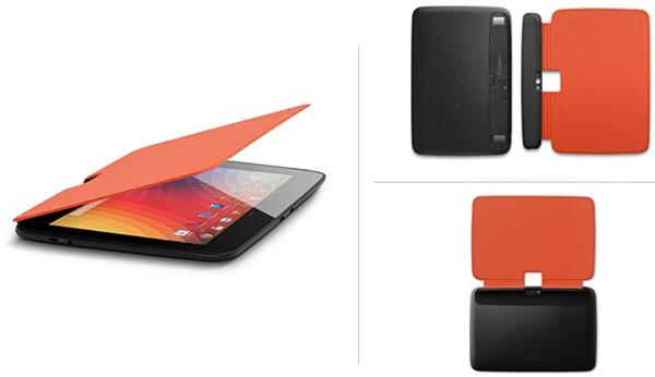 Цена фирменной обложки для планшета Google Nexus 10 — $30