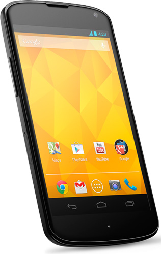 Google Nexus 4, возможно, скоро предстанет в новой модификации