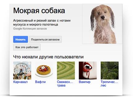 Google запустил сервис передачи запахов онлайн