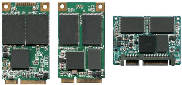 Накопители Green House GH-SSD3MA, GH-SSD2MA выполнены в типоразмере mSATA, и GH-SSD3HA — в типоразмере Half-Slim