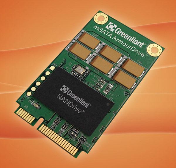 SSD Greenliant ArmourDrive типоразмера mSATA предназначены для встраиваемых систем