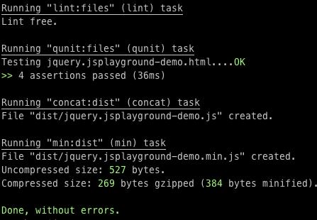 Grunt, инструмент для сборки javascript проектов