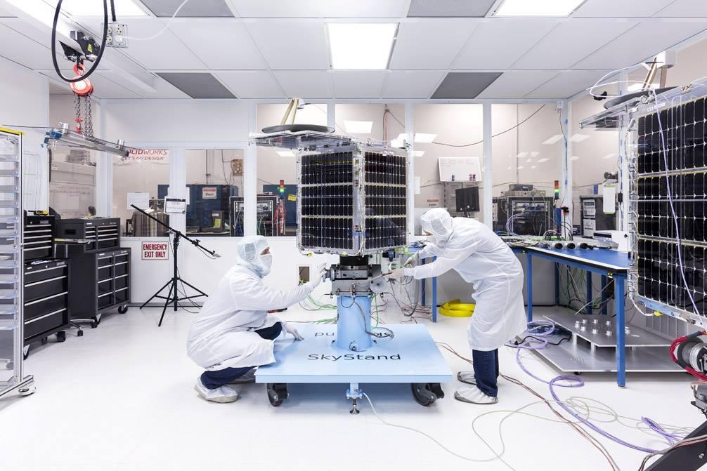 HD видео с частного спутника SkySat