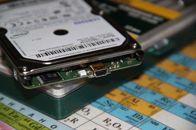 HDD c «чистым» USB