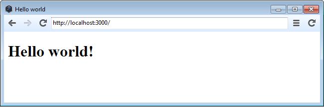 HTML/CSS/JS + Node.js + node webkit = Кроссархитектурные приложения