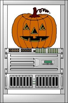 Halloween — hello admin
