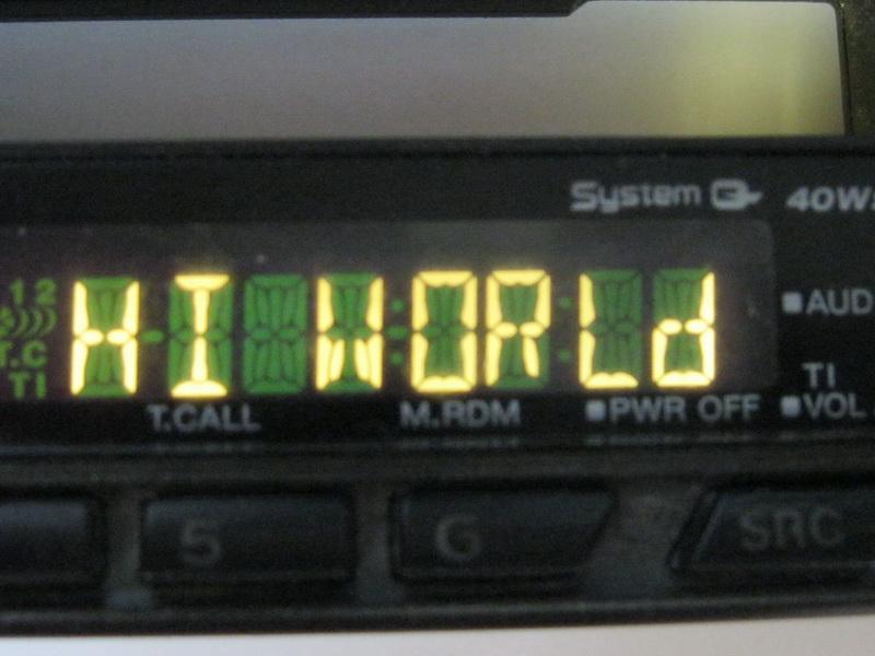 Helloworld на магнитоле