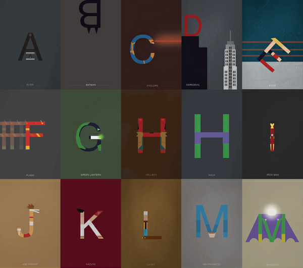 Helvetica и супер герои