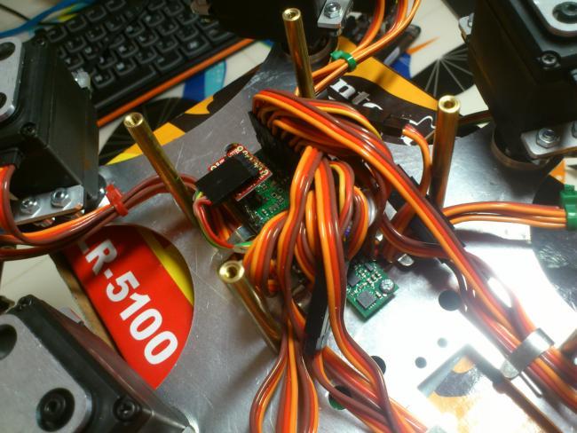 Hexapod робот под управлением ROS