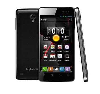 Highscreen выпустил самые дешевые смартфоны с 2  и 4 ядерными процессорами