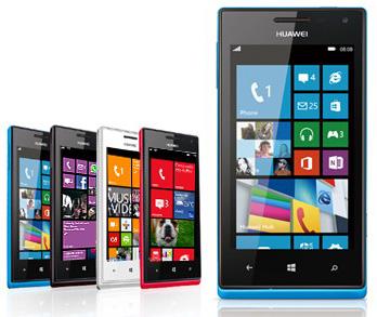 Huawei Ascend W1 - самый доступный смартфон под управлением Windows Phone 8 в Поднебесной