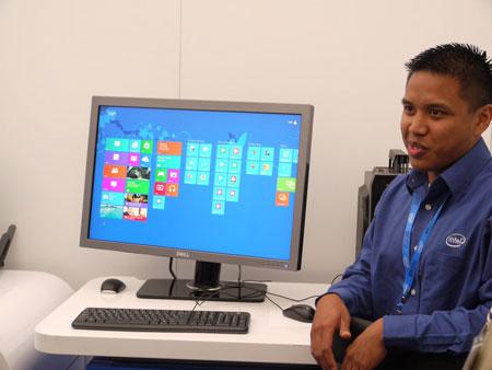 IDF 2012, день второй: Advances Technologies Zone, как использовать Windows 8 на обычных ПК