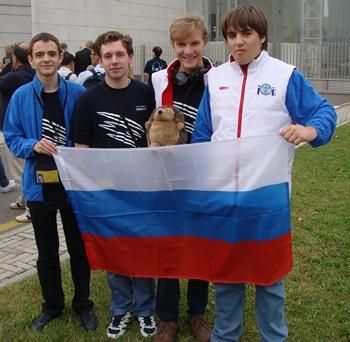 IOI 2012: 4 участика от России — 4 золота!