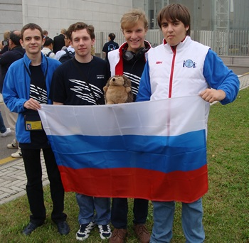 IOI 2012: 4 участника от России — 4 золота!