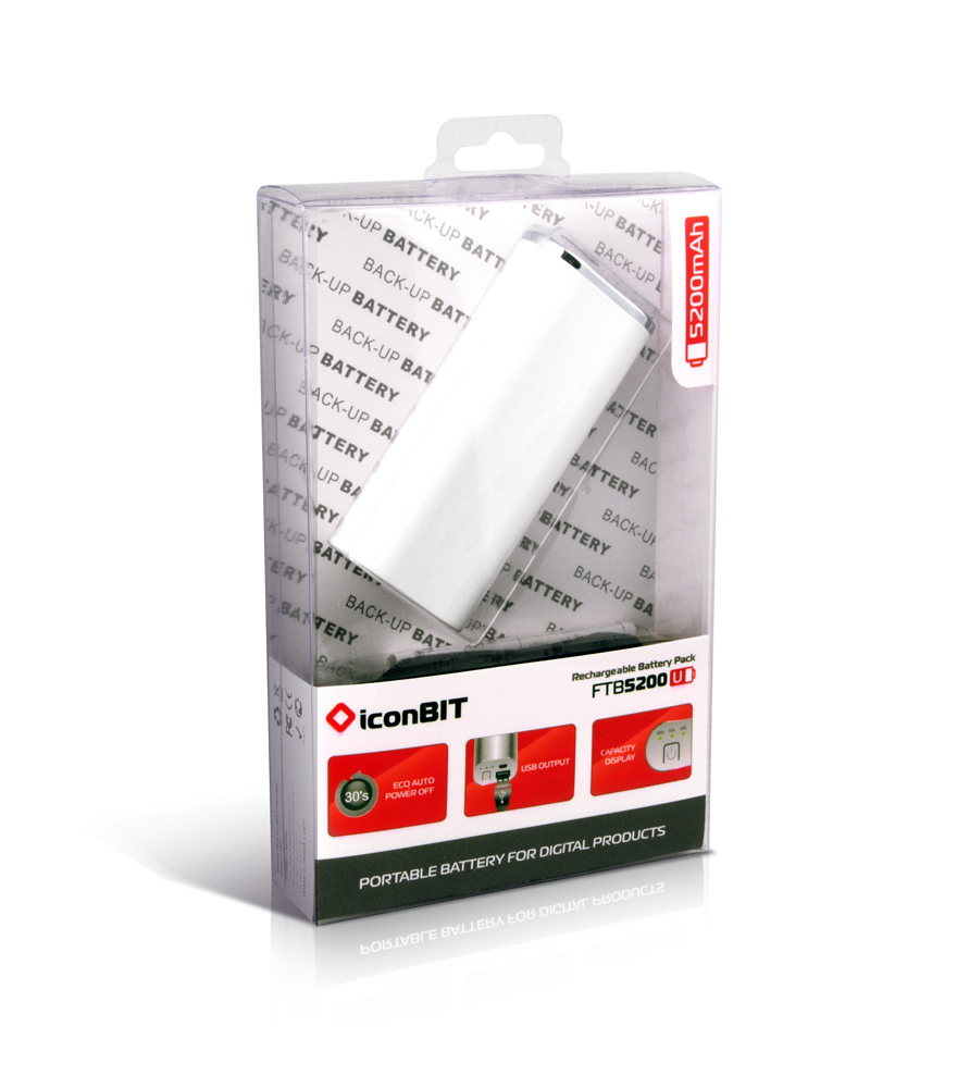 IconBIT FTB5200U Rechargeable Battery Pack. Обзор мобильной батареи