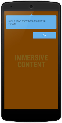 Immersive Mode (режим погружения) в Android 4.4 KitKat