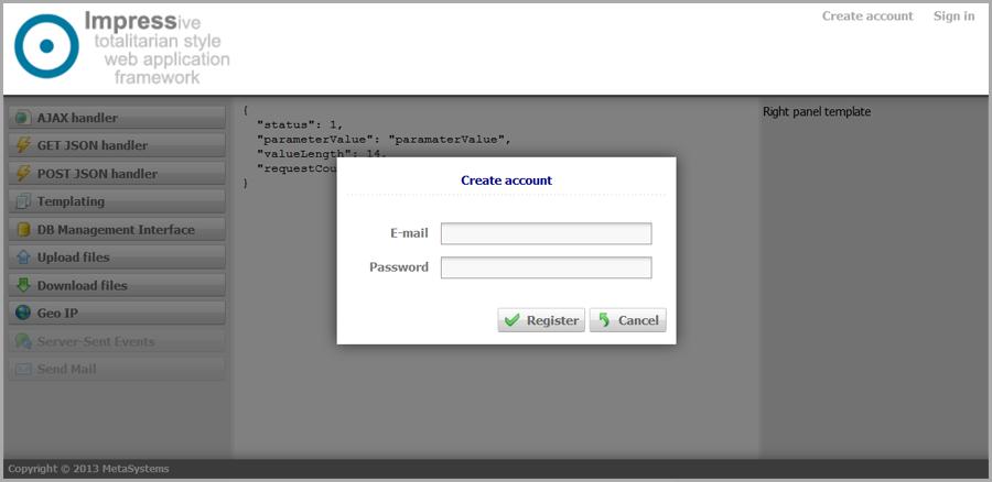 Impress: многоцелевой сервер приложений для Node.js