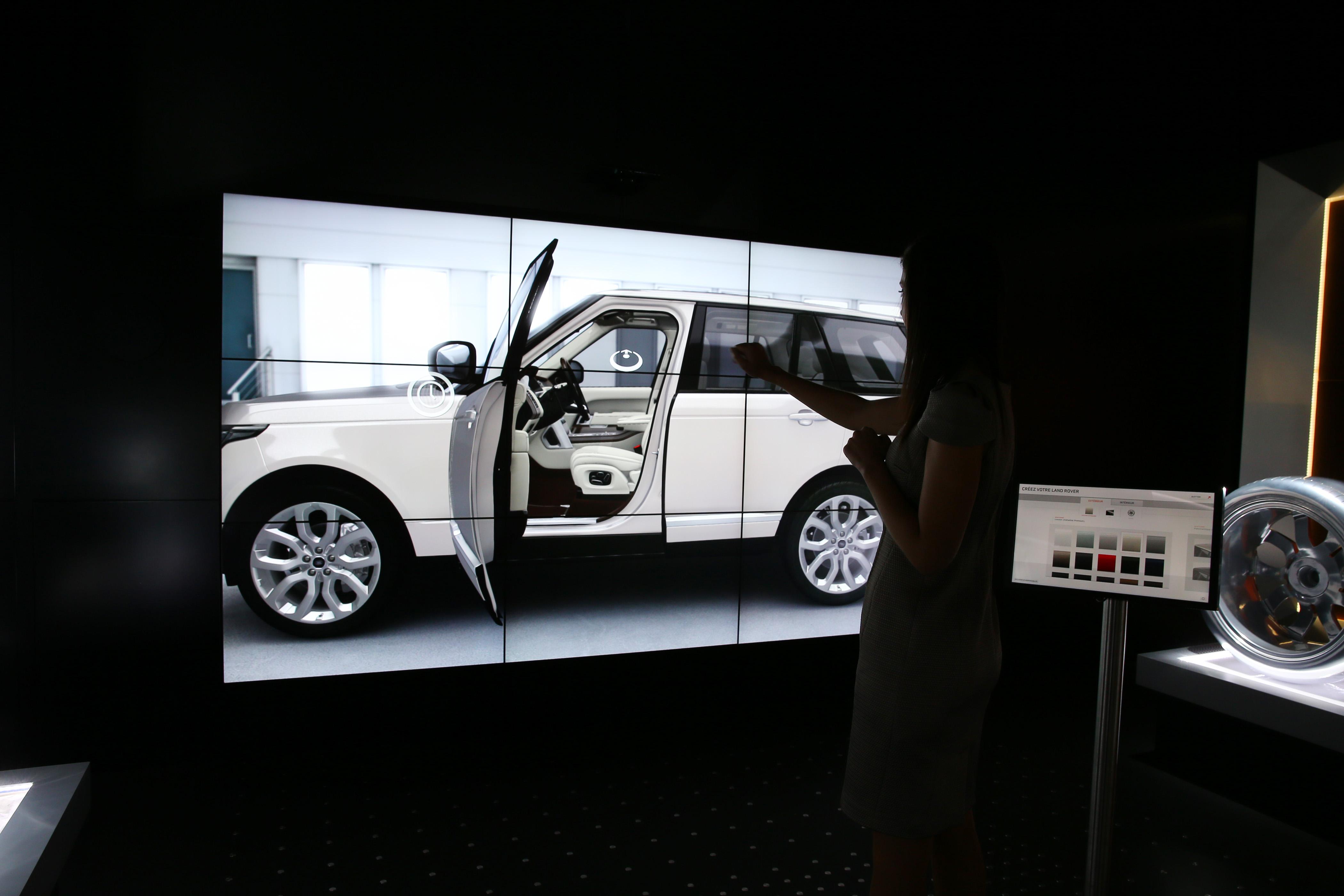 Jaguar использует виртуальные технологии для организации продаж