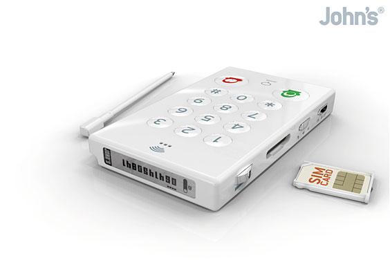John's Phone – простейший мобильный телефон в мире