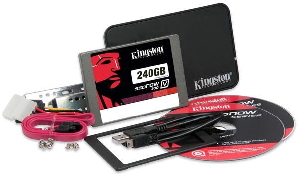 В накопителях SSDNow V300 используются контроллеры LSI SandForce