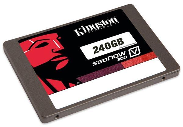 Kingston Digital начинает поставки твердотельных накопителей серии SSDNow V300