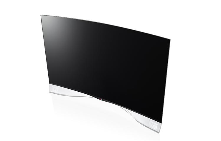 LG 55EA980 — Curved OLED TV теперь и в России