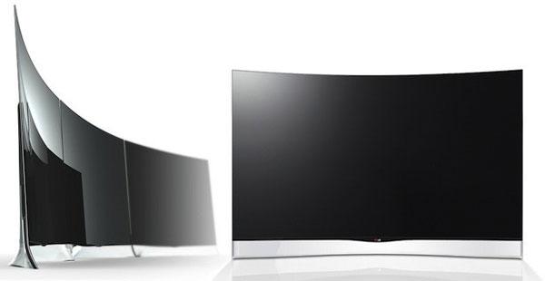 Цена первых в мире 55-дюймовых телевизоров OLED с вогнутым экраном производства LG — $13500