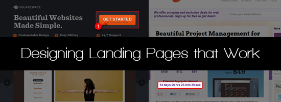 Landing page, которая работает