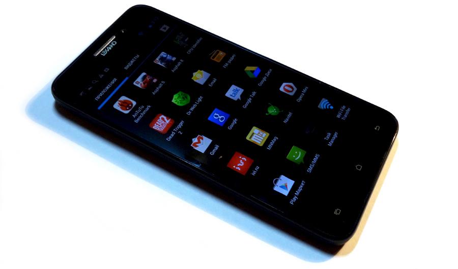 Lexand Capella: смартфон с Full HD экраном и поддержкой двух SIM карт за 9 600 рублей (280$)