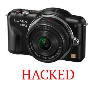 Lumix GF3 — хакнут