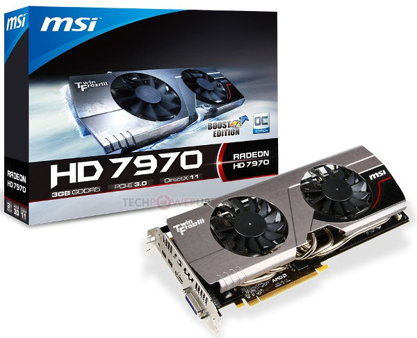 MSI Radeon HD 7970 Boost Edition