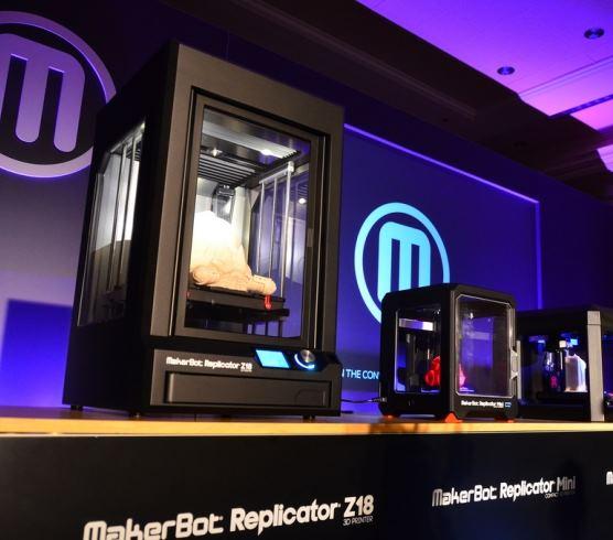 MakerBot выпустил две новые модели 3D принтеров: Replicator Mini и Replicator Z18