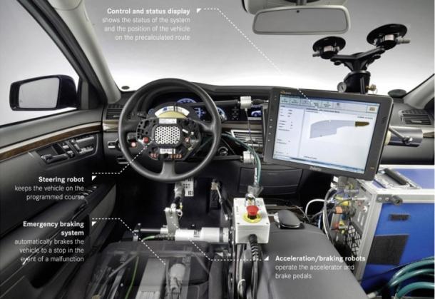 Mercedes встроит «автопилот» в свои авто S класса следующего поколения