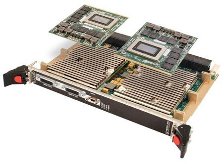 Подсистема производительностью 10 TFLOPS предназначена для военной и аэрокосмической отрасли