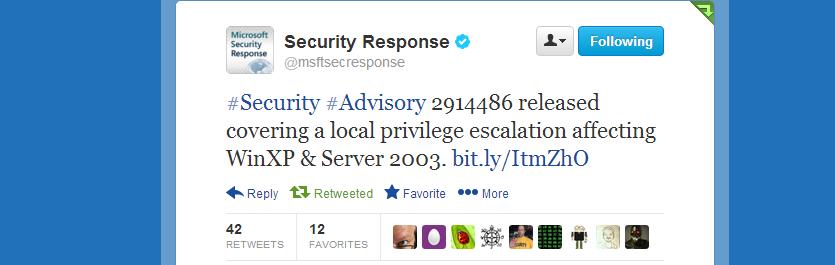 Microsoft предупреждает об эксплуатации CVE 2013 5065 ITW