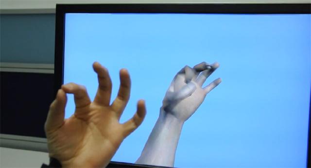 Microsoft создает прототип носимого манипулятора в 3D пространстве