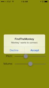 Multipeer connectivity framework в iOS7