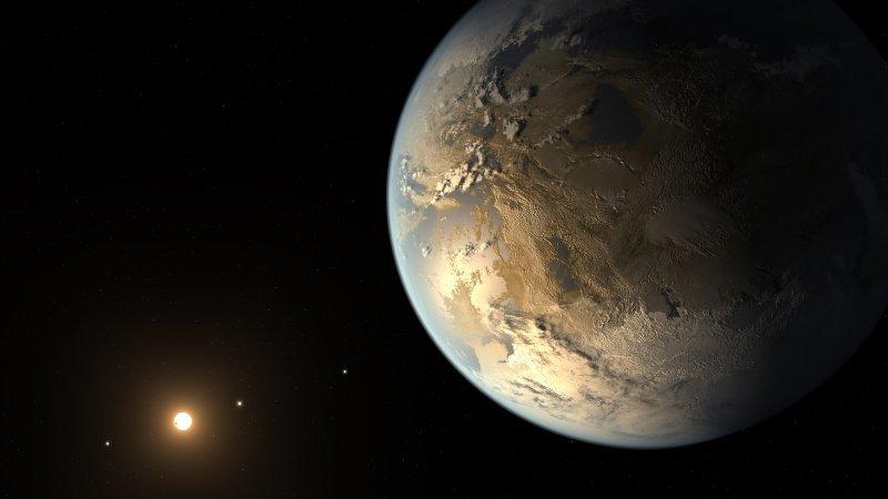 NASA: обнаружена планета, на которой потенциально может быть вода в жидком состоянии