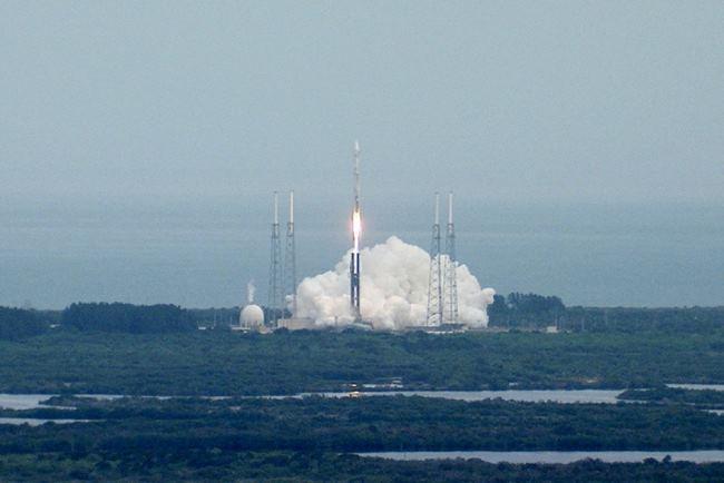 NASA провела успешный запуск спутника по изучению атмосферы Марса