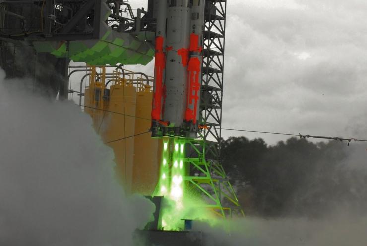 NASA разработала систему шумоподавления при запуске ракет (+ видео с места проведения испытаний)