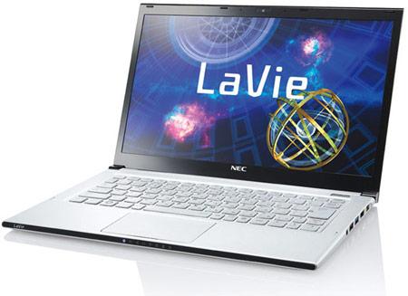 NEC обещает, что масса ультрабука LaVie Z с экраном размером 13,3 дюйма не превысит 999 г