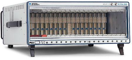 PXIe-1085 имеет 16 слотов PCI Express 2.0 x8