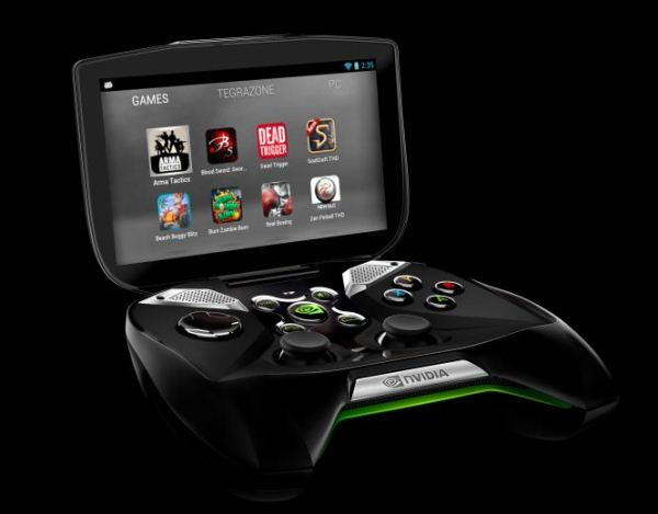 NVIDIA представила собственную игровую консоль SHIELD