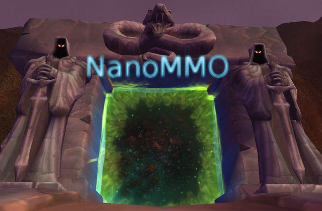 NanoMMO на Go и Canvas [Сервер]