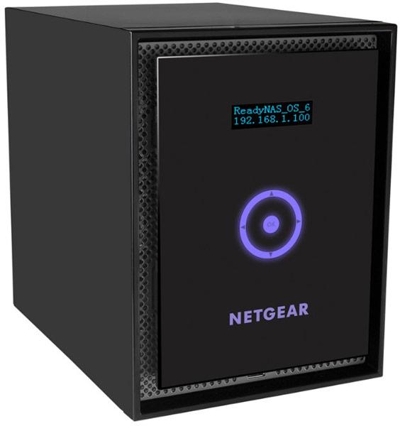 Одновременно с RN716 компания Netgear представила еще несколько устройств семейства ReadyNAS