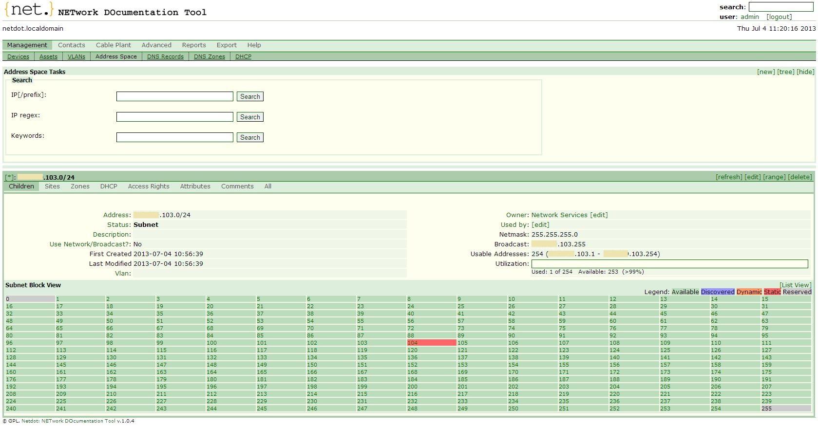 Network Documentation Tool — система для ведения документации сети