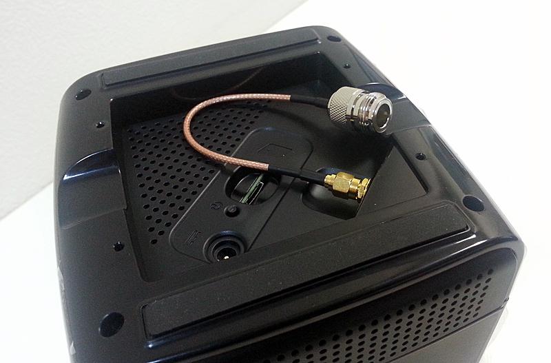 SMA-порт для подключения внешней антенны