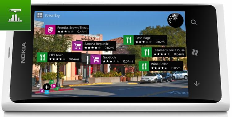 Nokia City Lens: дополненная реальность везде