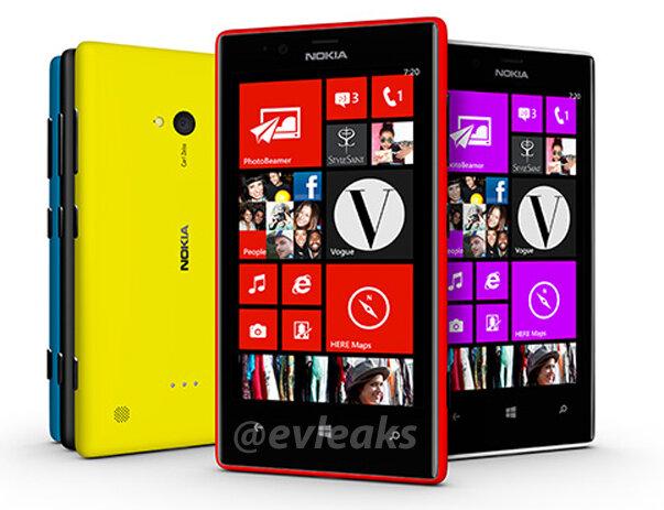 Nokia готовит смартфоны Lumia 520 и 720