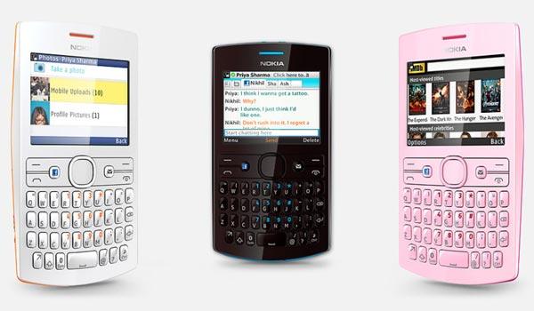 Nokia представляет телефоны Nokia Asha 205 Nokia 206 — первые аппараты с поддержкой функции Slam